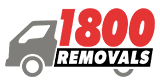 1800 Removals Small Truck Logo